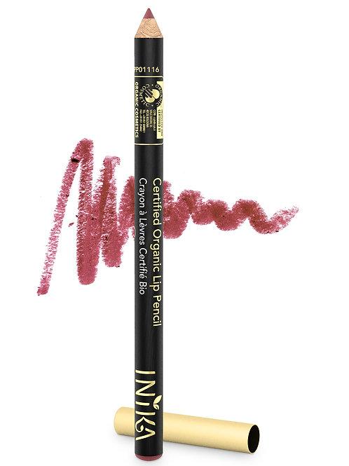 INIKA Certified Organic Lip Pencil - Sugar Plum 1.2  gr