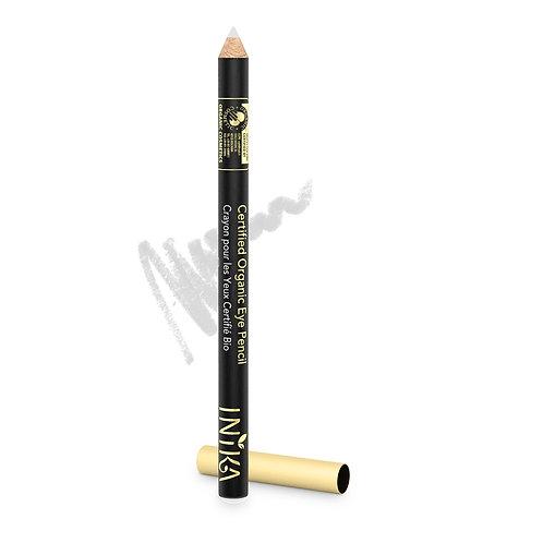 INIKA Certified Organic Eye Pencil - White Crystal 1.2  gr