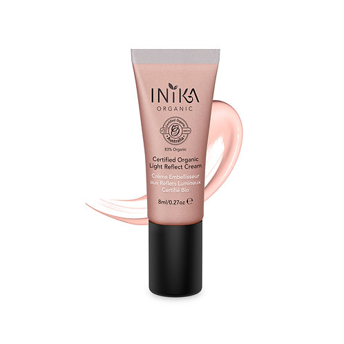 INIKA Certified Organic Light Reflect Cream  8  ml