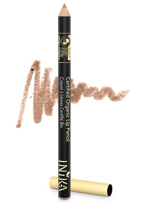 INIKA Certified Organic Lip Pencil - Nude Delight 1.2  gr
