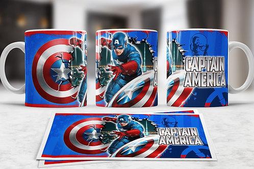 Marvel Character 11oz Coffee Mug