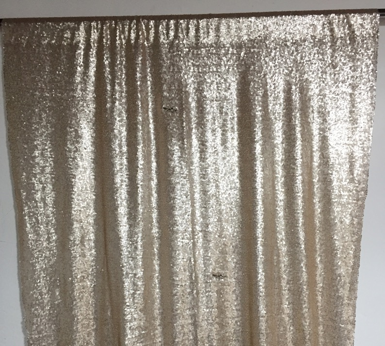 glitter backdrop