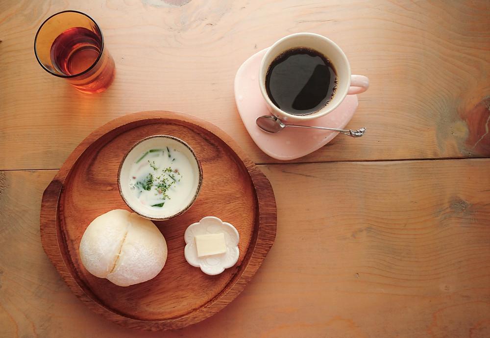 カフェ モーニング