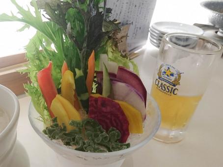 フォトジェニックな野菜たち、やさい家さくら