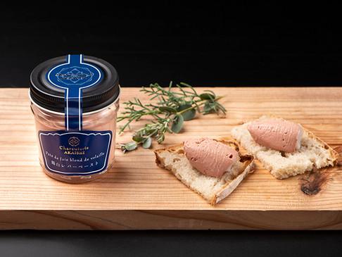 鶏白レバーペースト / Pâté de foie blond de volaille