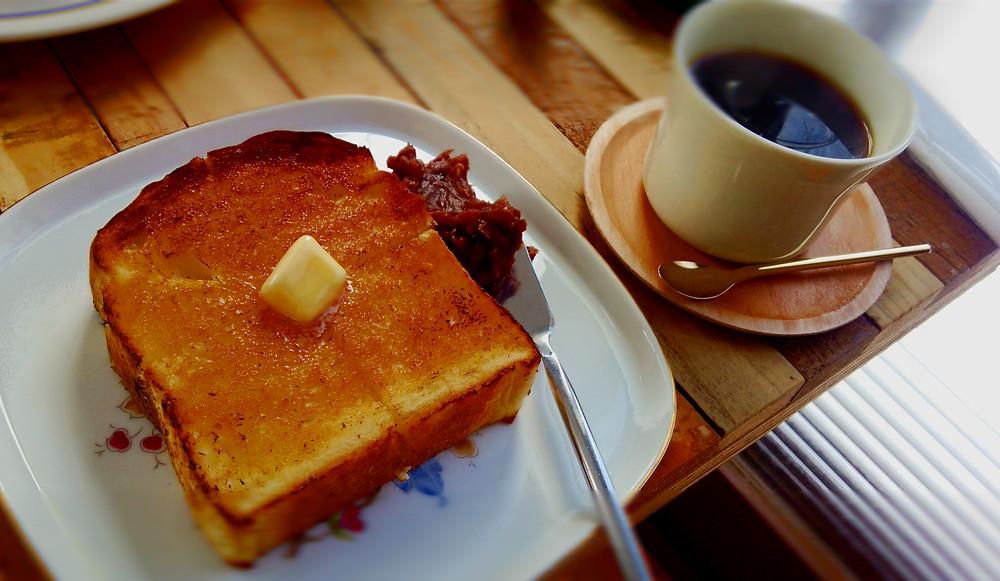 カフェ スロープ あんこバター