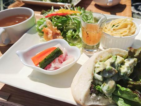お天気の良い日にガーデンランチ⇒cafe tea's Garden