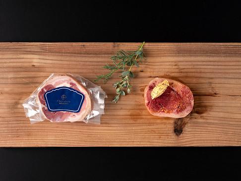 北海道産豚すね肉のハム / Jambonneau cuit