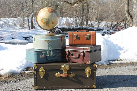 Set of 6 suitcases