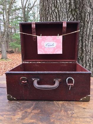 Vintage Box Suitcase