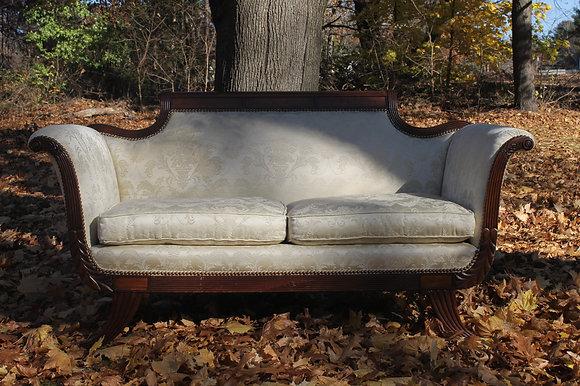 Miss D. Antique Love Seat