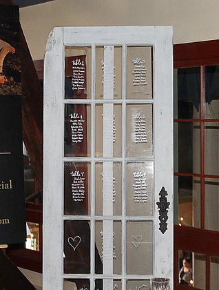 French Door for sign or seating chart