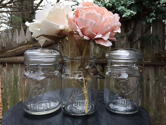 Pint Mason Jars Set of 35