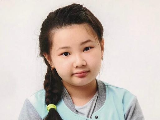 Нурдана, 9 лет.
