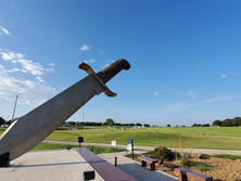 Worlds Largest Bowie Knife