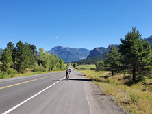 Heading to Wolf Creek Pass