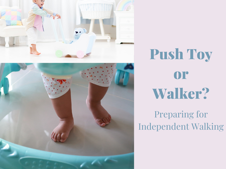 Push Toy or Walker: Will They Help My Baby Walk?