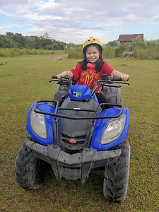 Mt Pinatubo ATV Aguiventure Child