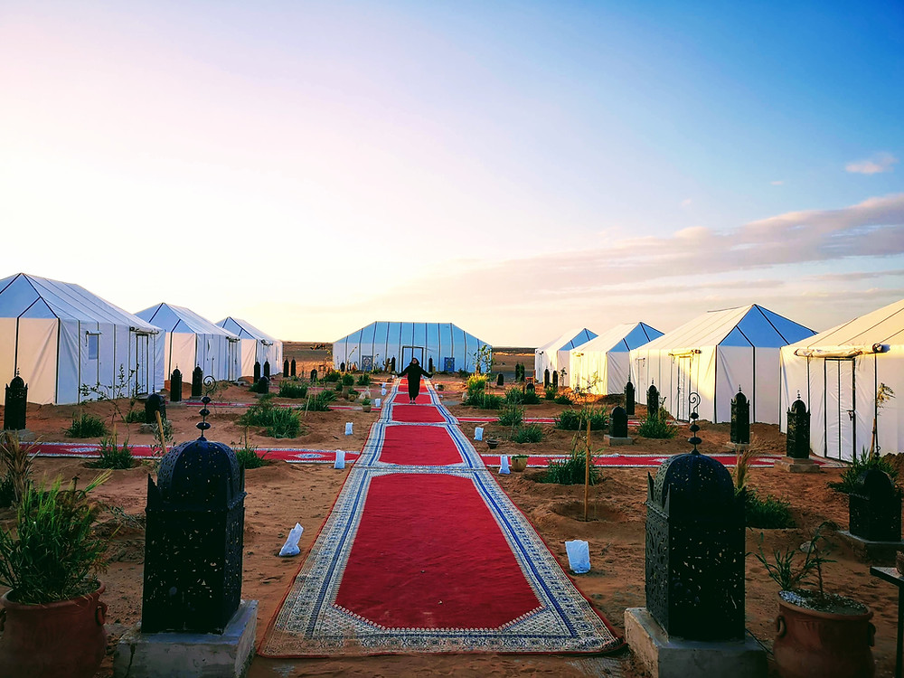 Sahara Desert Luxury Camp by Iddir Yakkoub