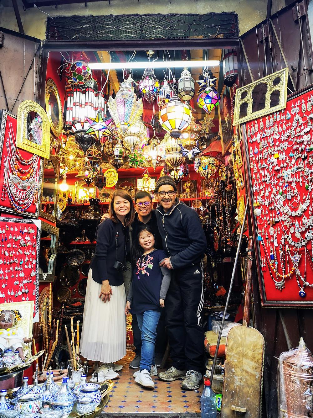 Shopping in Fez Souk, Medina