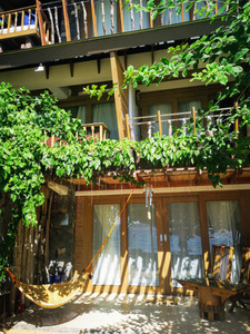 Vivere Azure room shot with hammock