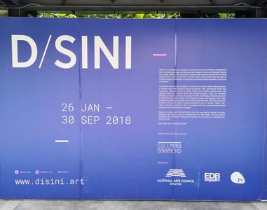Disini Art Exhibit at Gillman Barracks Singapore
