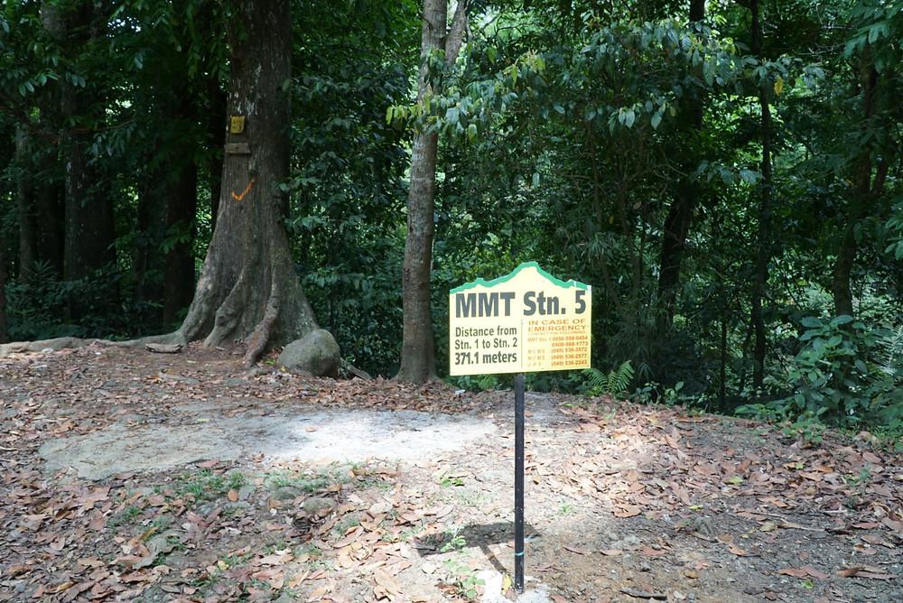 Mount Makiling Trail Station 5 Signage
