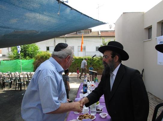 טקס חנוכת מקווה כפר גבירול 2013 - מועצה דתית רחובות
