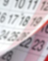מועצה דתית רחובות - לוח שנה יהודי