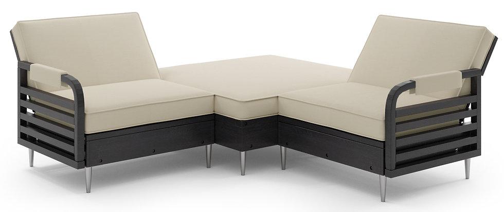 Zestaw Tarazzino Fotel + Pufa + Fotel