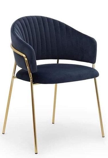 Krzesło Dorado złote nogi