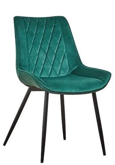 Krzesło Karo welwet plusz