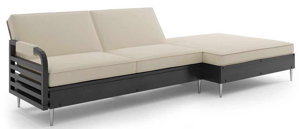 Zestaw Tarazzino Sofa + Pufa + Fotel