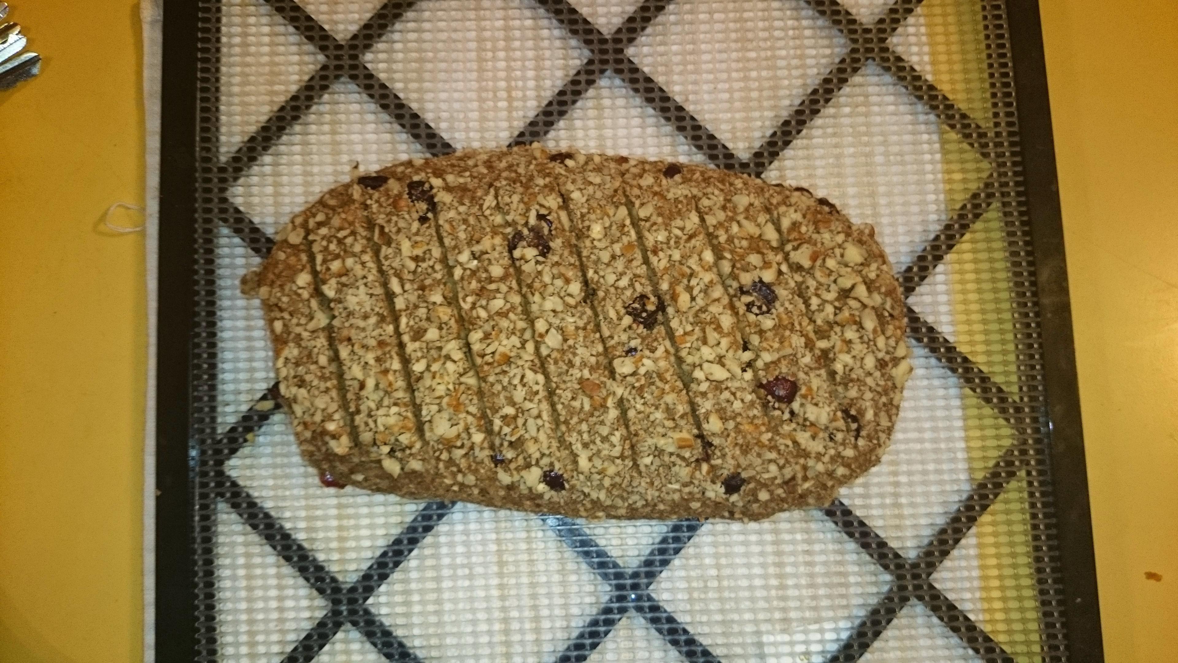 Raw Raisin Bread