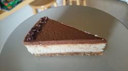 Chocolate Chai Cheesecake