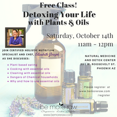 Detoxify with Plants and Oils