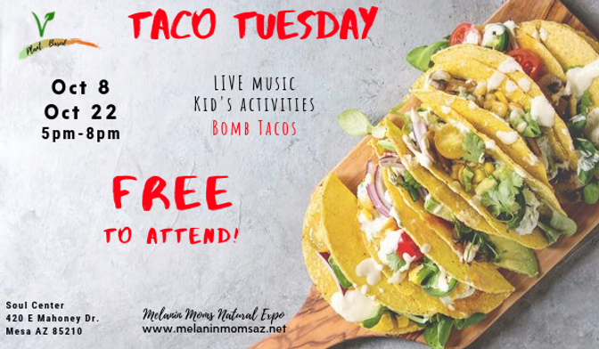 FB event Melanin Moms Taco Tuesday updat