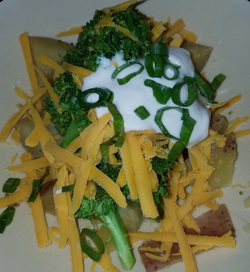 Deconstructed Loaded Baked Potato