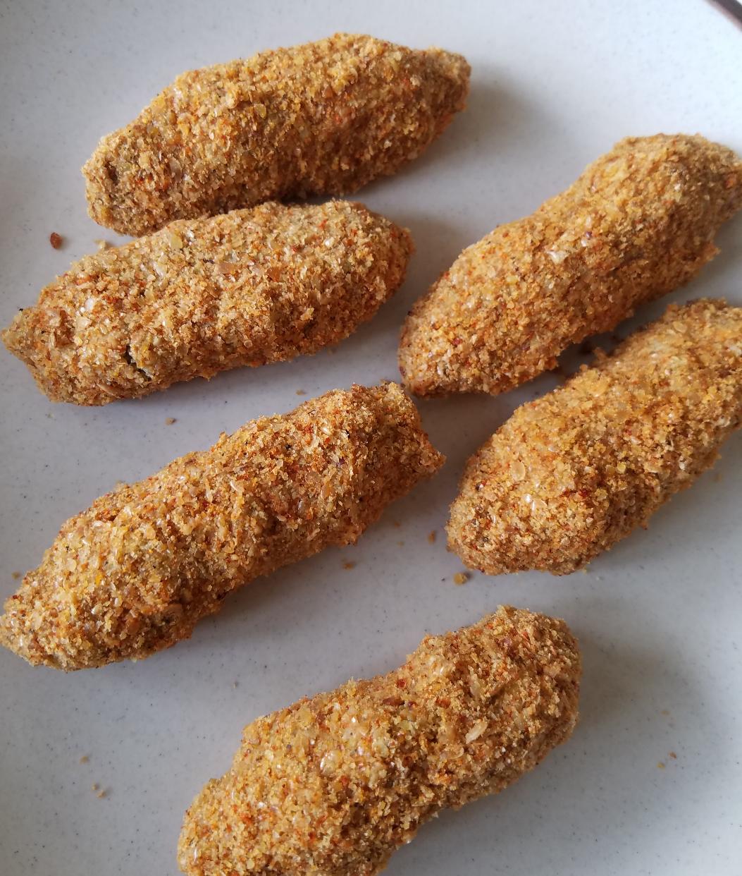 Raw fishsticks