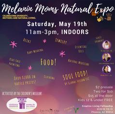 Melanin Moms Natural Expo 2018