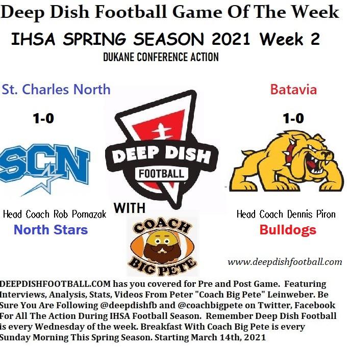 Coach Big Pete's Opening Remarks For St. Charles North vs Batavia Deep Dish Football GOTW Week 2
