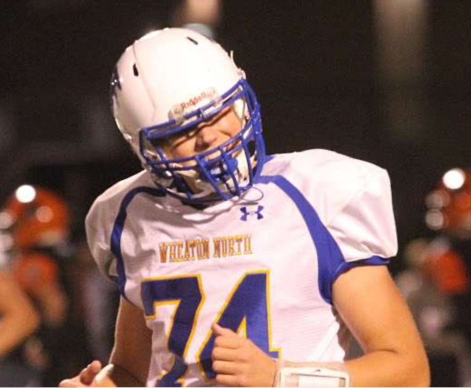Talking With 6'4 Wheaton North OL Gregory Fotinopoulos Class Of 2022 - Name To Keep An Eye Out For