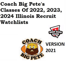 Coach Big Pete's Classes of 2022, 2023, 2024 Watchlists For Illinois Recruits Version 2021