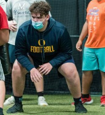Meet O'Fallon 6'6 OL Jack Eberhart Class Of 2022