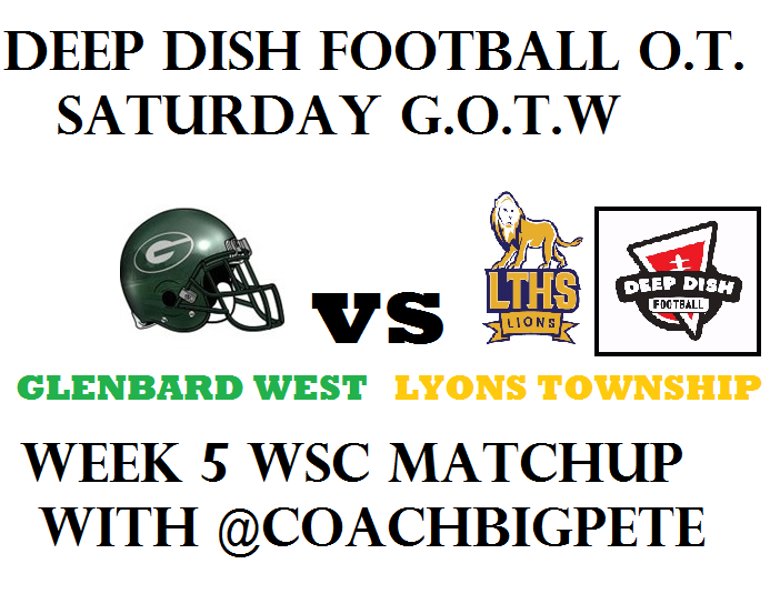 Deep Dish Football GOTWE Week 5