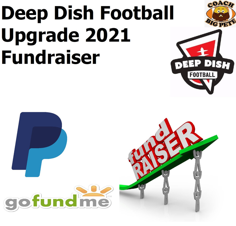 Deep Dish Football LIVE Fundraiser 1/31/21 Top 10 List-Top 10 Class Of 2022 Recruits In Illinois ETC