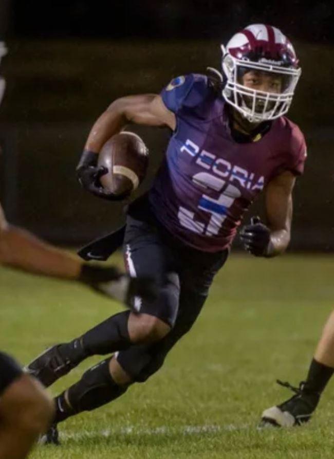 Peoria's Senior Star Running Back Eddie Clark Talks Peoria Football & Recruiting