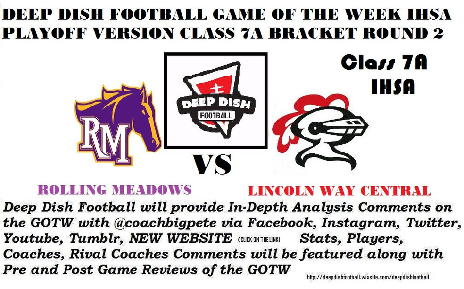 Class 7A Final Preview of Lincoln Way Central vs Rolling Meadows Game Round 2