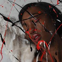 Make-up Artist- Caliann Sophia Feimer.  Model- Kareen Taylor.  Hair Stylist- LJ Vernon.  Photographer- Damian Sandone.  MuD Studio, NYC.