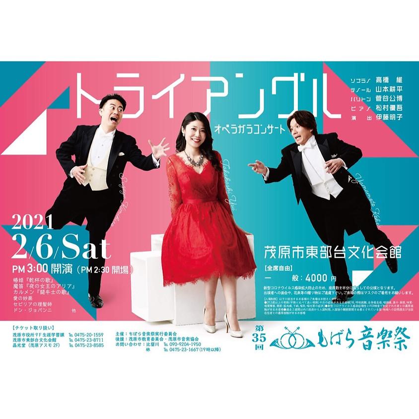 【公演中止】第35回もばら音楽祭「トライアングル オペラガラコンサート」